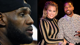 LeBron James Trying to STEAL Khloe Kardashian from Teammate Tristan Thompson!? - Video