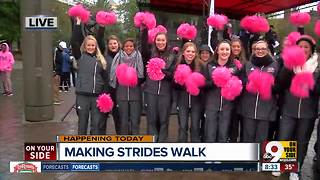 Making strides against breast cancer - Video