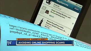 Avoiding online shopping scams