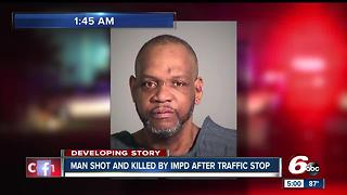 Man shot, killed by two IMPD officers after traffic stop - Video