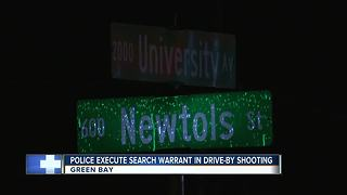 Green Bay Police investigating drive-by shooting - Video