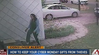 Protect your Cyber Monday orders from thieves - Video