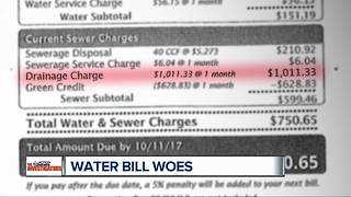How driveways, parking lots are changing the cost of Detroit water bills - Video
