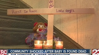 Neighbors mourn death of 8-month-old as mother's boyfriend is arrested for murder - Video