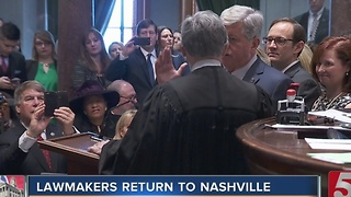 Lawmakers Convene 110th Tenn. General Assembly - Video