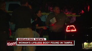 Woman found murdered inside Tampa home