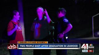 Police: Fight outside graduation ceremony led to shooting - Video