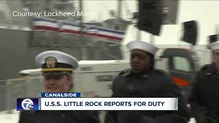 Little Rock Commissioned - Video