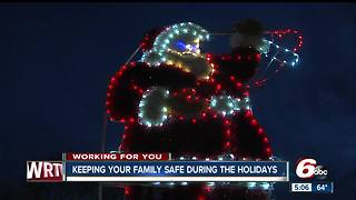 Keeping your family safe during the holidays