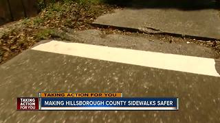 Making Hillsborough County Sidewalks safe - Video