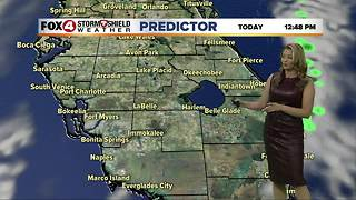 Rain on the Way with a Cold Front Wednesday - Video