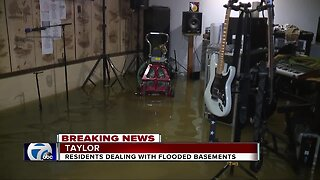 People Downriver dealing with flooded basements