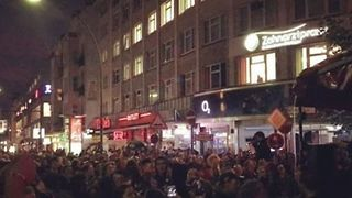 Anti-Fascist Protesters Gather in Berlin After Chemnitz Far-Right Demonstrations - Video