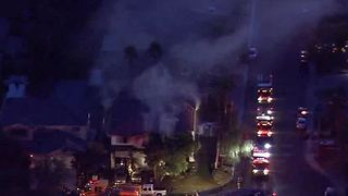 Family of six displaced by house fire near Buffalo, Desert Inn - Video
