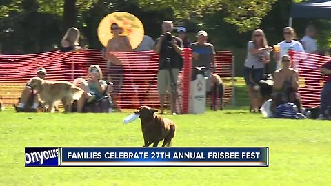 27th Annual Frisbee Fest takes over Ann Morrison Park