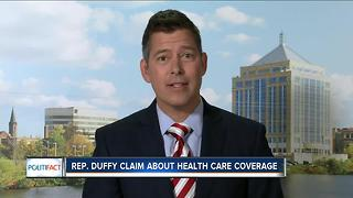 PolitiFact Wisconsin: Duffy's health care coverage claim