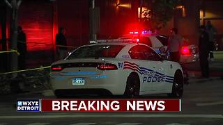 15-year-old shot in downtown Detroit - Video