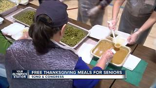Local non-profit delivers Thanksgiving meals to area seniors - Video
