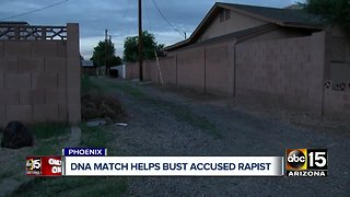Accused serial rapist behind bars after terrorizing Valley women for nearly a year