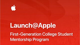 Apple Launches College Mentorship Program