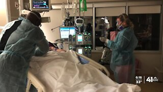 Caring for COVID-19 patients at KU Med