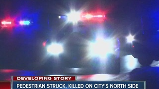 Woman struck and killed on Indianapolis' northwest side - Video