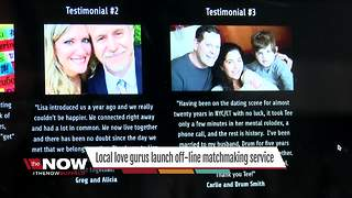 Local love gurus launch off-line matchmaking service - Video