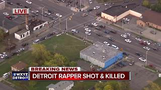Detroit rapper shot and killed - Video