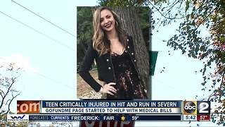 Teen hit by car walking home from party remains in critical condition - Video