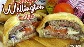 How to make a Wellington burger - Video