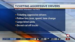 FHP safety campaign: Ticketing Aggressive Cars and Trucks