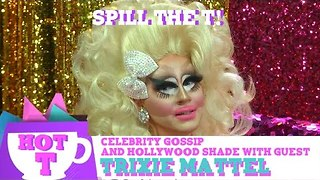 Trixie Mattel on HOT T: Celebrity Gossip & Hollywood Shade! Season 2 Episode 6 - Video