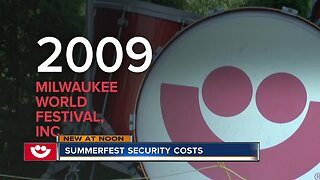 Summerfest security costs much more than expected