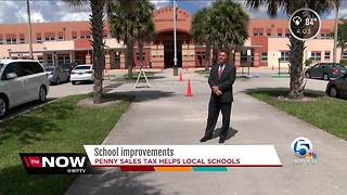 Penny sales tax helps local schools - Video