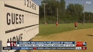 League of Dreams' park renovations done