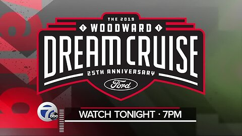 2019 Woodward Dream Cruise is 25th anniversary