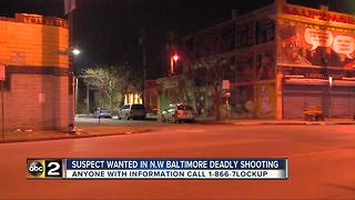 Man, fatally shot in the head in Northwest Baltimore - Video