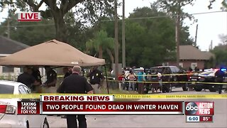 2 found dead in Winter Haven home, search for suspect underway