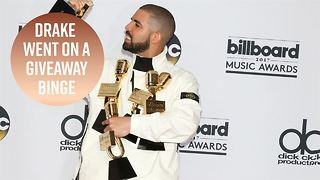 Drake goes back to high school! - Video