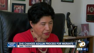 DHS institutes changes on asylum seekers