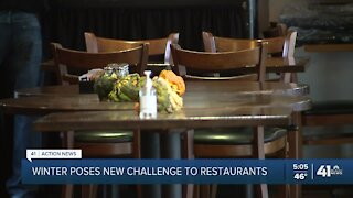 Winter poses new challenge to restaurants