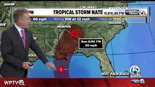 Death toll rises from Tropical Storm Nate