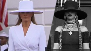 Who Wore It Better? Beyoncé Or Melania Trump?! - Video