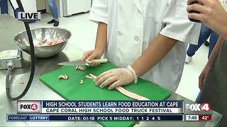 Community Festival at Cape Coral High School - 7:30am live report - Video