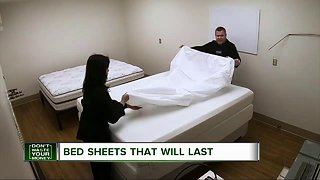 Bed sheets that will last after a year of washing