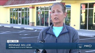Port Charlotte woman working with cystic fibrosis during pandemic