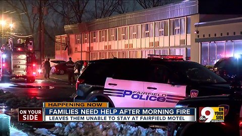 Families need help after motel fire