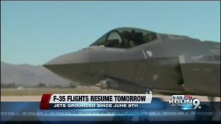 Luke AFB to resume F-35 flights after hypoxia investigation - Video