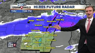 Recchia NBC26 Storm Shield Weather Forecast - Video