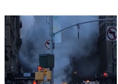 Travel Disruption Reported Following Steam Pipe Explosion in Manhattan